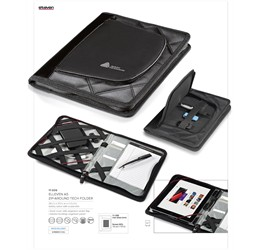 Elleven A5 ZipAround Tech Folder