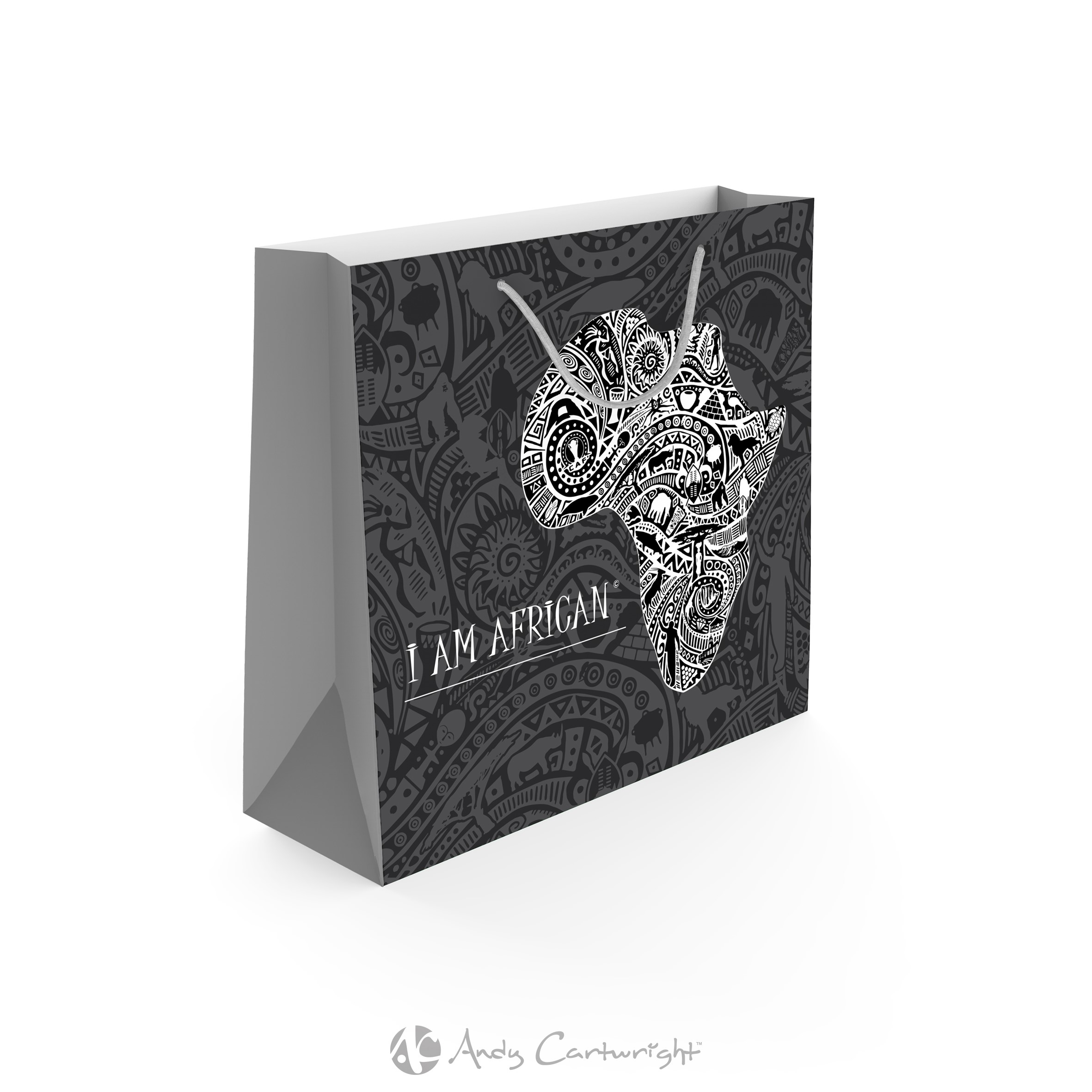 Product: Andy Cartwright I am African Gift Bag