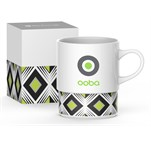 Andy Cartwright Geo Coffee Mug Lime