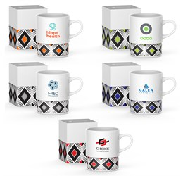 Andy Cartwright Geo Coffee Mug  380ml