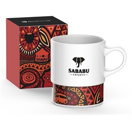 Andy Cartwright I Am South African Coffee Mug  Red Only
