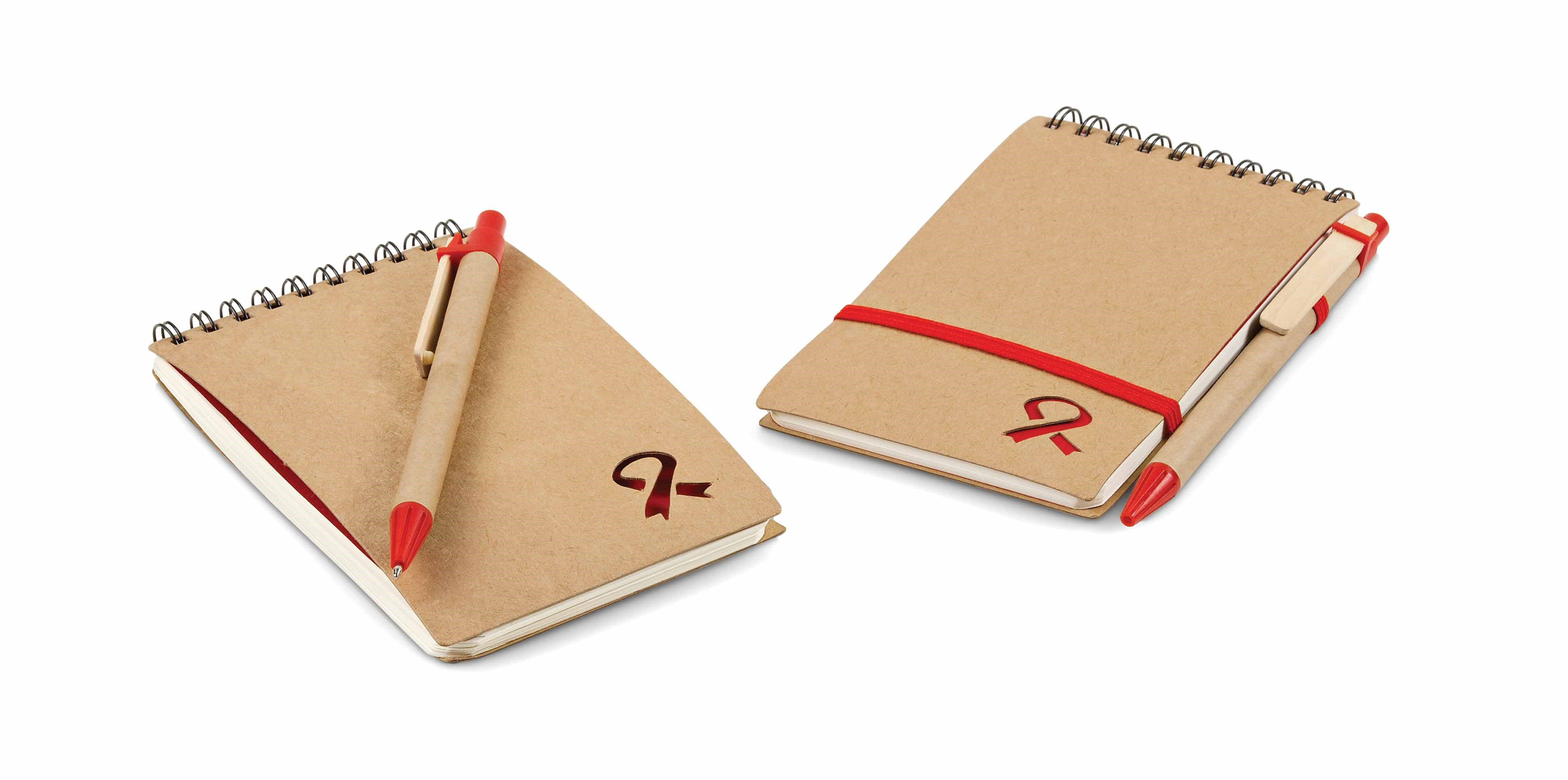Aids Day Notebook and Pen Gift Sets
