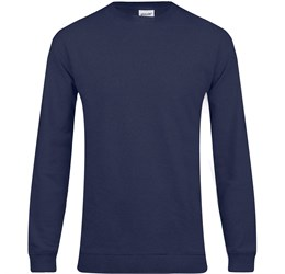 Mens Alpha Sweater  Navy Only