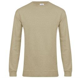 Mens Alpha Sweater  Stone Only
