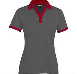 Golfers - Ladies Bridgewater Golf Shirt  Red Only