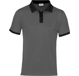 Golfers - Mens Bridgewater Golf Shirt  Black Only