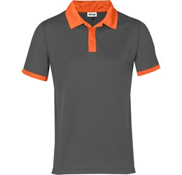 Golfers - Mens Bridgewater Golf Shirt  Orange Only