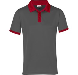 Golfers - Mens Bridgewater Golf Shirt  Red Only