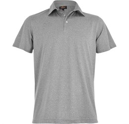 Golfers - Mens Beckham Golf Shirt  Grey Only