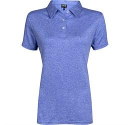 Golfers - Ladies Beckham Golf Shirt  Blue Only