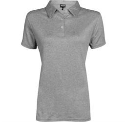 Golfers - Ladies Beckham Golf Shirt  Grey Only