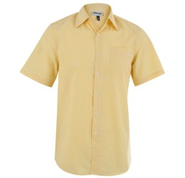Drew Short Sleeve Shirt  Yellow Only