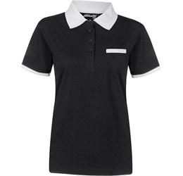 Golfers - Ladies Caliber Golf Shirt  Black Only