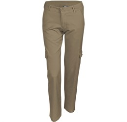 Ladies Cargo Pants  Natural Only