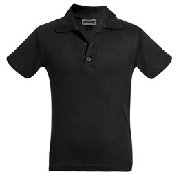 Golfers - Kids Michigan Golf Shirt  Black Only