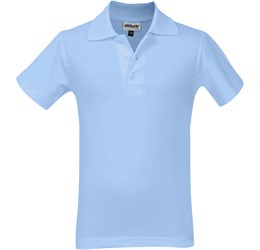Golfers - Kids Michigan Golf Shirt  Light Blue
