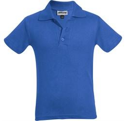 Golfers - Kids Michigan Golf Shirt  Royal Blue