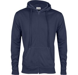 Mens Stanford Hooded Sweater  Navy Only