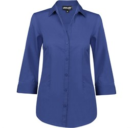 Ladies ¾ Sleeve Viscount Shirt  Red Only