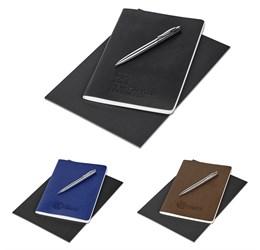 Alex Varga Medium Soft Cover Notebook And Pen Set