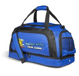 Houston DoubleDecker Bag  Blue Only