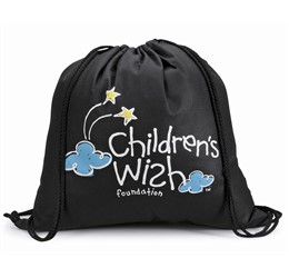 MicroMini Drawstring Bag  Black Only