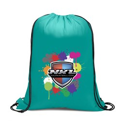 Condor 210D Drawstring Bag  Turquoise Only