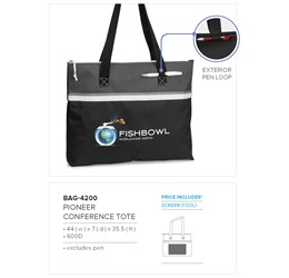 Pioneer Conference Tote