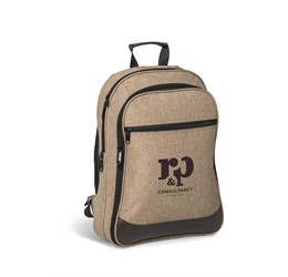 Capital TravelSafe Tech Backpack  Brown Only