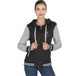 Ladies Princeton Hooded Sweater