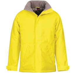 Mens Hastings Parka  Yellow Only