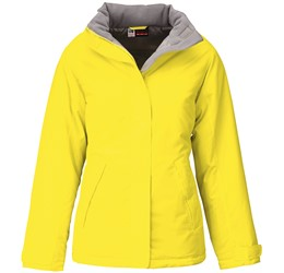 Ladies Hastings Parka  Yellow Only