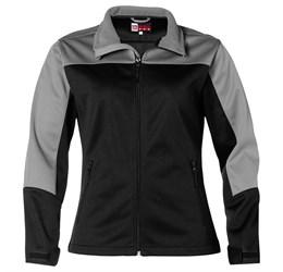 Ladies Attica Softshell Jacket  Black Only
