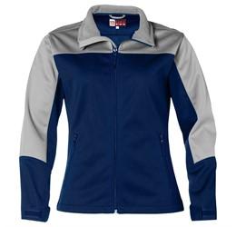 Ladies Attica Softshell Jacket  Navy Only