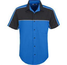 Mens Daytona Pitt Shirt  Blue Only