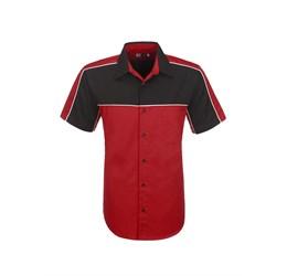 Mens Daytona Pitt Shirt  Red Only