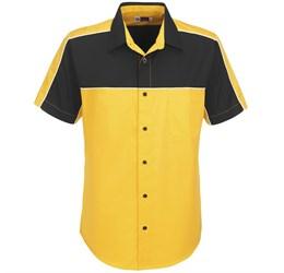 Mens Daytona Pitt Shirt  Yellow Only