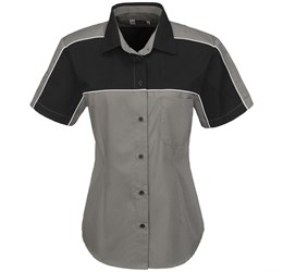Ladies Daytona Pitt Shirt  Grey Only