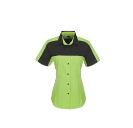 Ladies Daytona Pitt Shirt  Lime Only