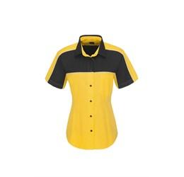 Ladies Daytona Pitt Shirt  Yellow Only