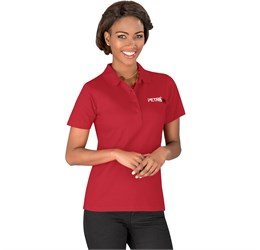 Golfers - US Basic Cardinal Ladies Single Golf Shirt