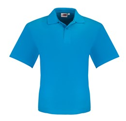 Golfers - Mens Elemental Golf Shirt  Aqua Only