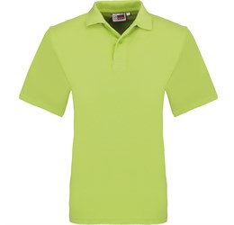 Golfers - Mens Elemental Golf Shirt  Lime Only