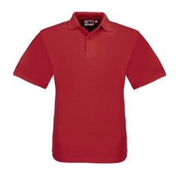Golfers - Mens Elemental Golf Shirt  Red Only