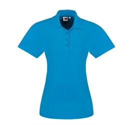 Golfers - Ladies Elemental Golf Shirt  Aqua Only