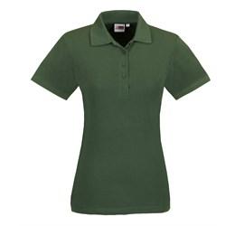 Golfers - Ladies Elemental Golf Shirt  Green Only