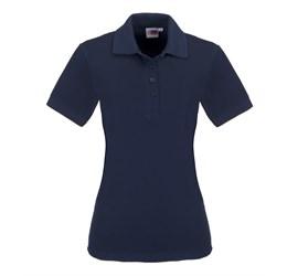 Golfers - Ladies Elemental Golf Shirt  Navy Only