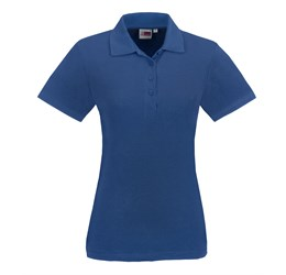 Golfers - Ladies Elemental Golf Shirt  Royal Blue Only