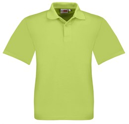 Golfers - Kids Elemental Golf Shirt  Lime Only