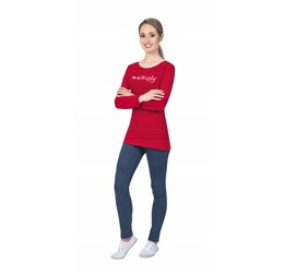 Ladies Long Sleeve Portland TShirt